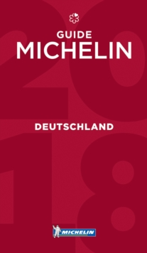 Deutschland - Guide MICHELIN 2018, Paperback Book