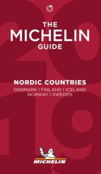 Nordic Countries - The MICHELIN Guide 2019 : The Guide MICHELIN, Paperback / softback Book