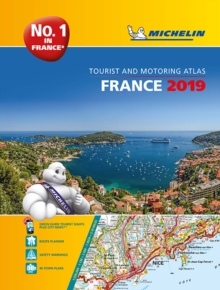 France 2019 -A4 Tourist & Motoring Atlas : Tourist & Motoring Atlas A4 spiral, Spiral bound Book
