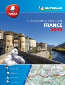 France 2019 - Tourist & Motoring Atlas Multi-flex : Tourist & Motoring Atlas A4 spiral, Paperback / softback Book