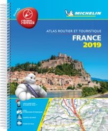 France 2019 -Tourist & Motoring Atlas A4 Laminated Spiral : Tourist & Motoring Atlas A4 spiral, Spiral bound Book