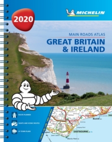 Great Britain & Ireland 2020 - Mains Roads Atlas (A4-Spiral) : Tourist & Motoring Atlas A4 spiral, Spiral bound Book