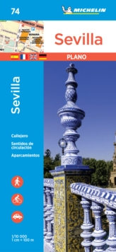 Sevilla - Michelin City Plan 74 : City Plans, Sheet map Book