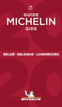 Belgique Luxembourg - The MICHELIN Guide 2020 : The Guide Michelin, Paperback / softback Book