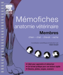 Memofiches anatomie veterinaire - Membres, EPUB eBook