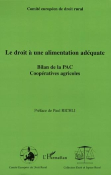 Droit a une alimentation adequate, PDF eBook