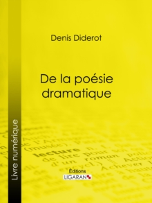 De la poesie dramatique, EPUB eBook