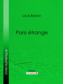 Paris etrange, EPUB eBook