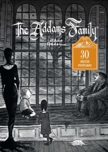 The Addams Family, 30 Deluxe Postcards, Postcard book or pack Book