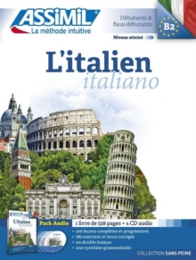 L'Italien Book + 4 Audio CDs, Mixed media product Book