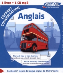 Coffret conversation anglais (guide +1 CD audio), Mixed media product Book