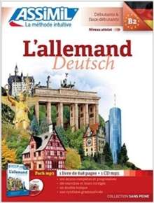 L'allemand  (Livre + CD MP3), Mixed media product Book