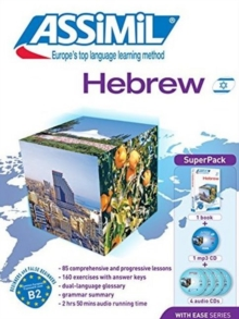 Hebrew with Ease (Superpack), Mixed media product Book