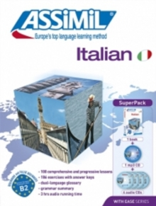 Italian Super Pack (book, 4 audio Cds & 1 mp3 CD) : Italian with ease - ASSIMIL (Book + 1 MP3 CD + 4 Audio CDs), Mixed media product Book