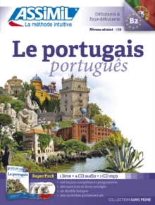 Le Portugais (Superpack 1 book + 4CDs + 1CD mp3), Mixed media product Book
