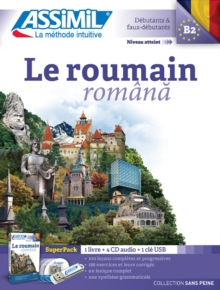 Le Roumain (Superpack) : Book + 4CD audio + 1 cle USB, Mixed media product Book