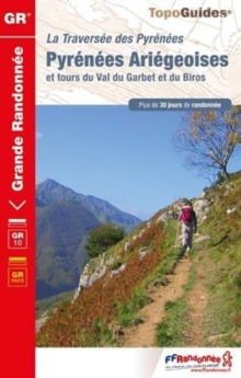 PYR. ARIGEOISES GR10 VAL DU GARBET DU BR, Sheet map Book