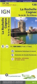 LA ROCHELLE SAINTES IGN, Sheet map Book
