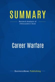 Amazon.com: Career Warfare: 10 Rules for Building a ...
