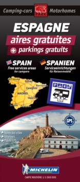 Spain Motorhome Stopovers : Trailers Park Maps, Sheet map Book