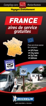 France Motorhome Stopovers : Trailers Park Maps, Sheet map Book