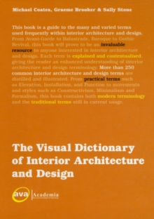 The Visual Dictionary of Interior Architecture and Design, Paperback Book