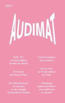 Audimat - Revue n(deg)7 : Revue de critique musicale, EPUB eBook