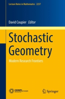 Stochastic Geometry : Modern Research Frontiers, EPUB eBook