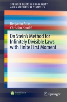 On Stein's Method for Infinitely Divisible Laws with Finite First Moment, EPUB eBook