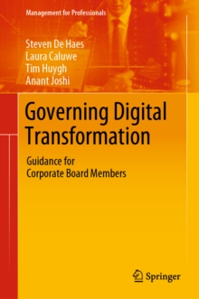 Governing Digital Transformation : Guidance for Corporate Board Members, EPUB eBook