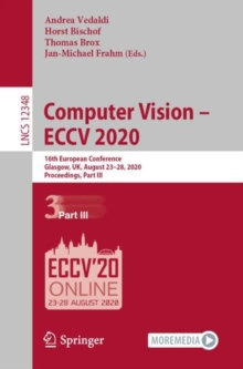 Computer Vision - ECCV 2020 : 16th European Conference, Glasgow, UK, August 23-28, 2020, Proceedings, Part III, EPUB eBook