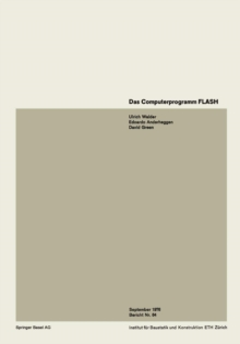 Das Computerprogramm FLASH / The Computer Program FLASH / Le programme FLASH, PDF eBook