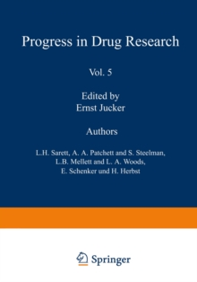 Fortschritte der Arzneimittelforschung /  Progress in Drug Research /  Progres des recherches pharmaceutiques, PDF eBook
