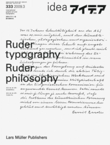 Ruder Typography-Ruder Philosophy : Idea No. 333, Paperback / softback Book