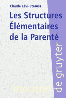 Les Structures Elementaires de la Parente, PDF eBook