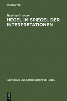 Hegel im Spiegel der Interpretationen, PDF eBook