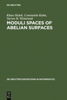Moduli Spaces of Abelian Surfaces : Compactification, Degenerations and Theta Functions, PDF eBook