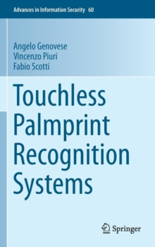 Touchless Palmprint Recognition Systems, Hardback Book