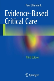 Evidence-Based Critical Care, Paperback Book
