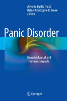 Panic Disorder : Neurobiological and Treatment Aspects, Hardback Book