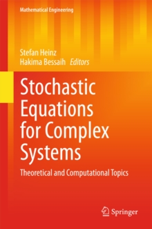 Stochastic Equations for Complex Systems : Theoretical and Computational Topics, PDF eBook
