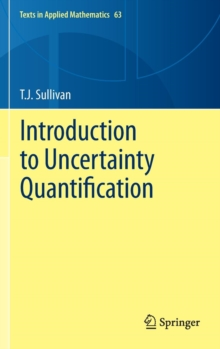 Introduction to Uncertainty Quantification, Hardback Book