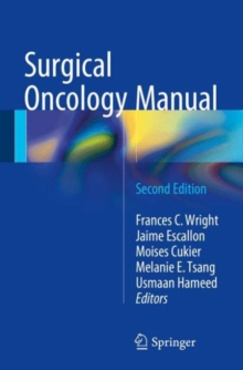 Surgical Oncology Manual, Paperback Book