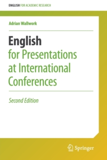 English for Presentations at International Conferences, Paperback / softback Book
