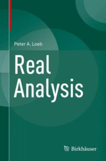 Real Analysis, Hardback Book
