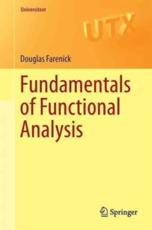 Fundamentals of Functional Analysis, Paperback / softback Book