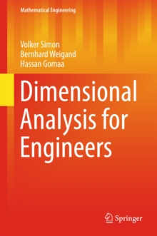Dimensional Analysis for Engineers, EPUB eBook