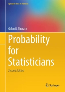 Probability for Statisticians, Paperback Book