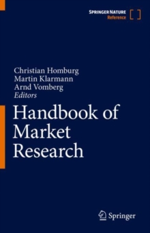 Handbook of Market Research, Hardback Book