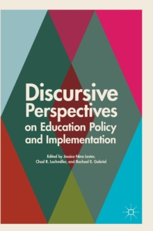 Discursive Perspectives on Education Policy and Implementation, Hardback Book